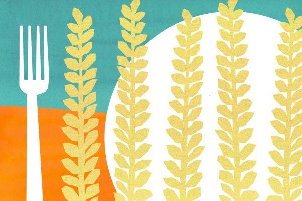 wheat illustration