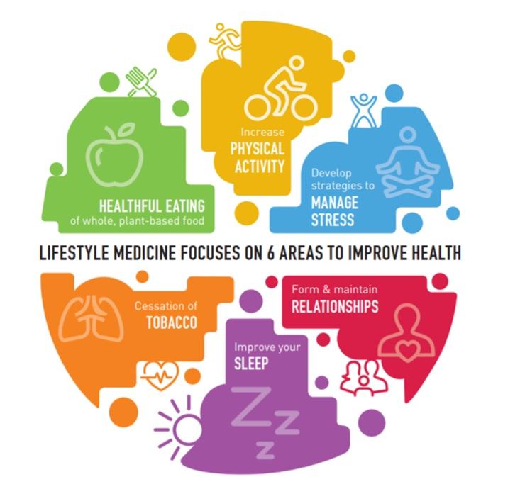 lifestyle medicine graphic